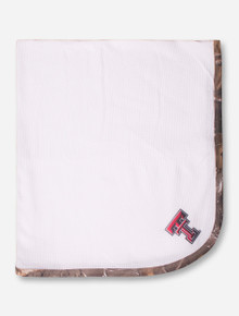 Texas Tech Double T Baby Thermal Blanket with RealTree Camo