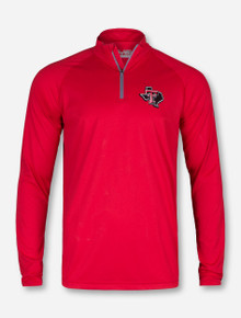 Under Armour Texas Tech Lone Star Pride on Red Quarter Zip Pullover