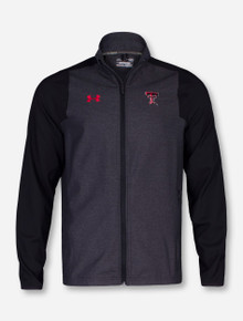 "Under Armour Texas Tech ""X-Factor"" Heather Charcoal and Black Jacket"