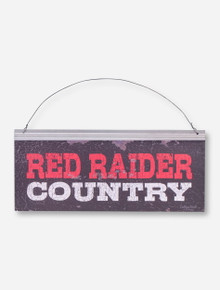 Red Raider Country Metal Sign - Texas Tech