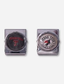 Set of 2 Texas Tech Dome Magnet Clips