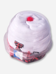 Texas Tech Baby Cap Cake