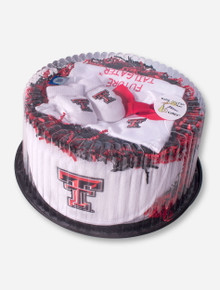 Texas Tech Baby Fan Cake
