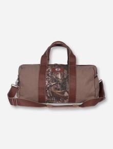 Texas Tech Double T Camo Canvas Duffle Bag