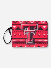 Texas Tech Double T Aztec Red Stadium Seat/Bleacher Cushion