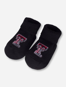 Texas Tech Double T Black INFANT Booties