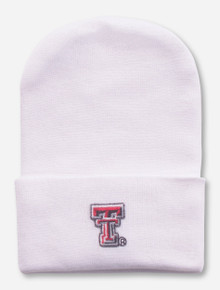 Texas Tech Double T White INFANT Cap