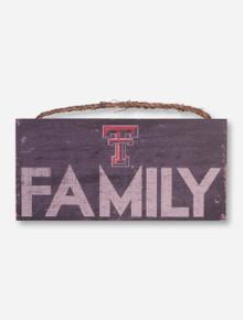 Texas Tech Family Sign