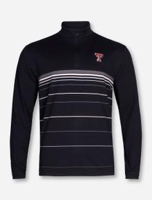 "Under Armour Texas Tech ""Maze"" Striped Quarter Zip Pullover"