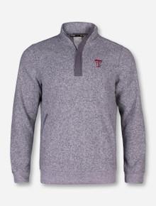 "Under Armour Texas Tech ""Win It"" Grey Quarter Zip Pullover"