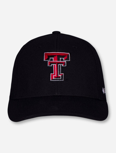 Columbia Texas Tech Red Raiders Pfg Quot Pique Quot Stretch Fitted Cap