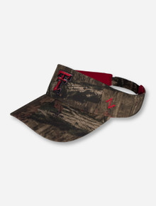 Zephyr Texas Tech Double T Camo Visor