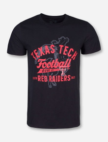 Texas Tech Sweeper Black T-Shirt