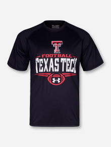 "Under Armour Texas Tech ""Football Basic"" Black T-Shirt"