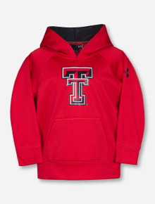 Under Armour Texas Tech Double T TODDLER Red Hoodie