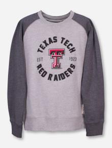 "Garb Texas Tech ""Jay"" YOUTH Heather Grey Sweatshirt"
