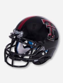 Schutt Texas Tech Metallic Red and Black Mini Helmet
