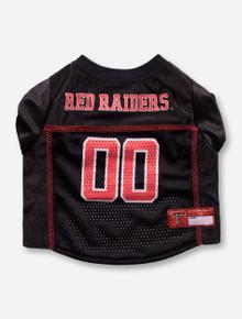 Texas Tech Red Raiders #00 Black Pet Jersey