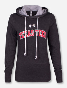 "Under Armour Texas Tech ""Varsity"" Heather Charcoal Women's Hoodie"