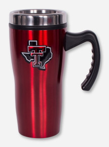 Texas Tech Lone Star Pride Red Stainless Steel Travel Tumbler
