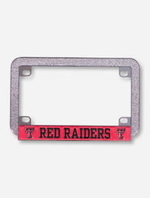 Texas Tech Red Raiders Motorcycle License Plate Frame