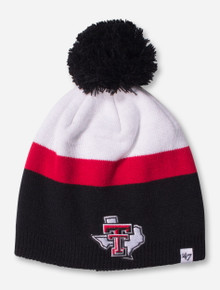 "47 Brand Texas Tech ""Texas Pride"" Team Colors YOUTH Knit Cap"