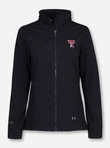 Under Armour Texas Tech Double T Softshell Women's Black Jacket