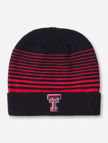 Under Armour Texas Tech Double T Fading Black Beanie