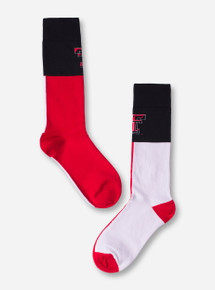 Texas Tech State Flag Crew Socks