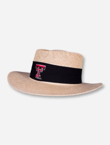 Texas Tech Double T Birch Straw Hat