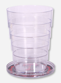 Texas Tech Double T Pocket Pint Collapsible Cup