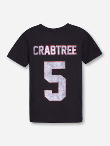 "Texas Tech ""Crabtree"" Throwback YOUTH Black T-Shirt"