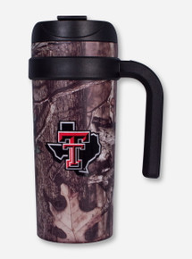 Texas Tech Lone Star Pride Camo Travel Tumbler