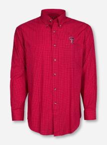 """Antigua Texas Tech """"Esteem"""" Long Sleeve Dress Shirt"""