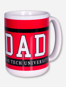 Texas Tech DAD Block Coffee Mug