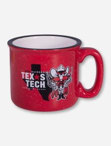 Texas Tech Mascot Texas Star on Red Campfire Mug