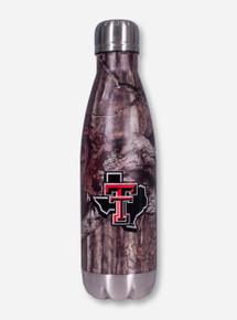 Texas Tech Lone Star Pride Twist On Stainless Steel Camo Water Bottle