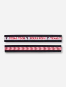 Texas Tech Stretch Ribbon Headband Set
