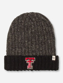 "47 Brand Texas Tech ""Danbury"" Grey Beanie"