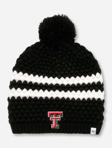 "47 Brand Texas Tech ""Kendall"" Black & White Beanie"