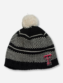 "47 Brand Texas Tech ""Nitehawk"" Black & Cream Beanie"