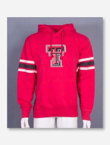 Arena Texas Tech Raw Edged Double T Red Hoodie