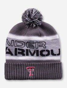 "Under Armour Texas Tech ""Aspen"" Grey Beanie"