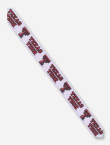 Texas Tech Double T White Ribbon
