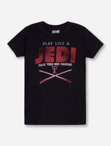 Texas Tech Jedi on YOUTH Black T-Shirt