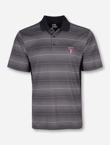"""Cutter & Buck Texas Tech """"Commissioner"""" Grey Polo"""