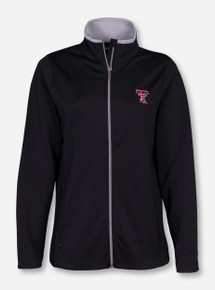 "Antigua Texas Tech ""Leader"" Women's Black Jacket"
