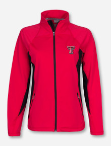 "Texas Tech ""Lunar Poppy"" Double T on Women's Red Jacket"