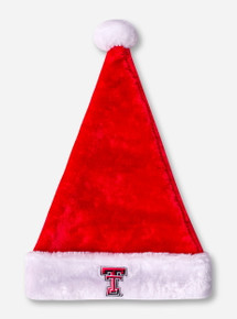 Texas Tech Double T Santa Hat