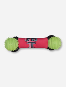Texas Tech Double T Dumbell Tug of War Dog Toy
